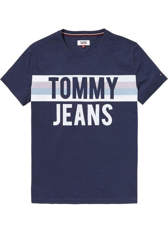 Tommy Jeans T-Shirt Colorblock