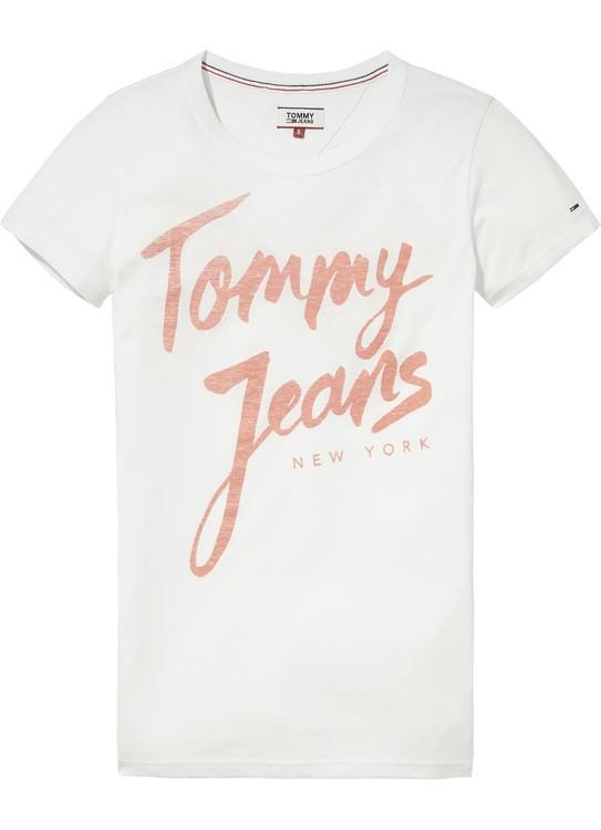Tommy Jeans T-Shirt Script Logo