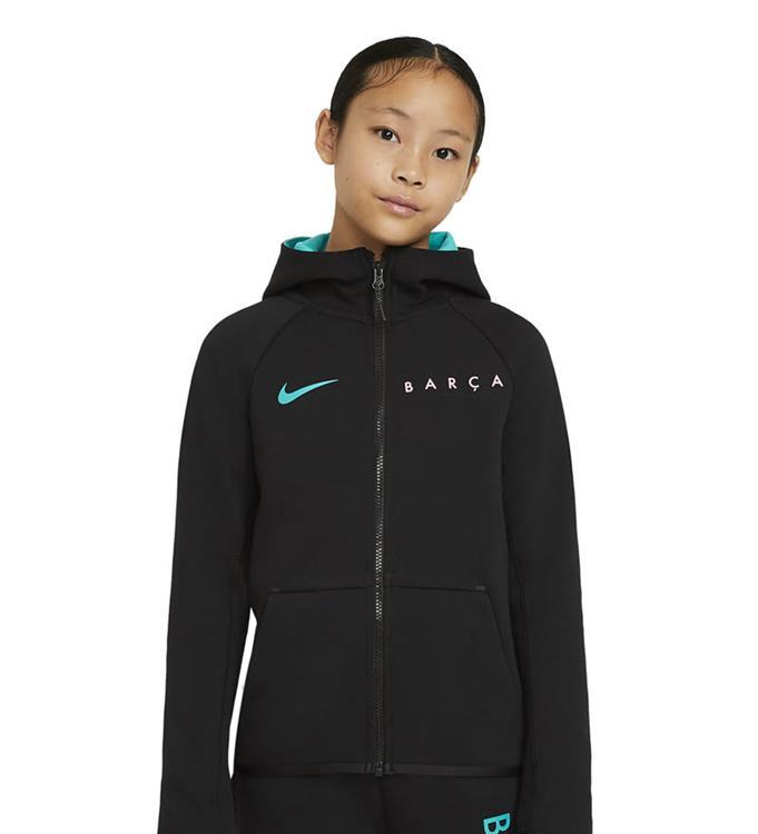 Nike F.C. Barcelona Tech Fleece Essentials Hoodie 2020/2021 Y