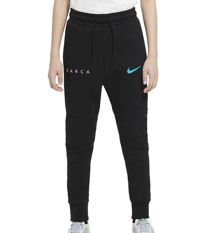 Nike F.C. Barcelona Tech Fleece CL Trainingsbroek 2020/2021 Y