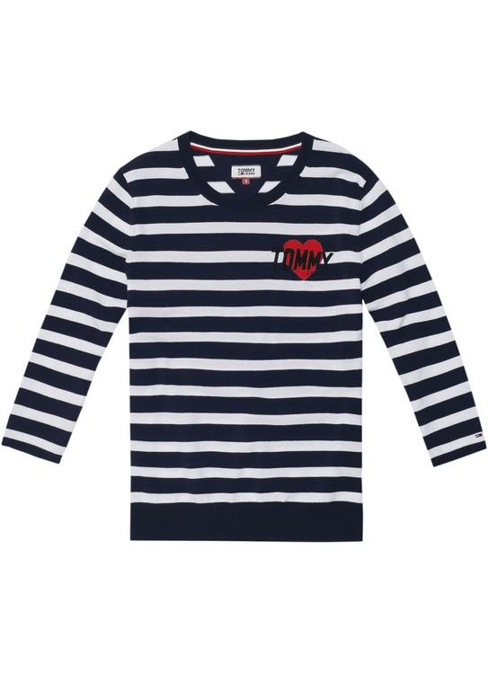 Tommy Jeans Sweater Stripe Badge