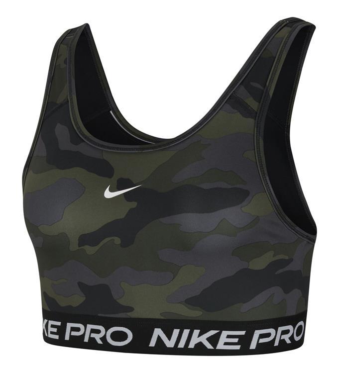 Nike Swoosh Camo Print Sportbeha W