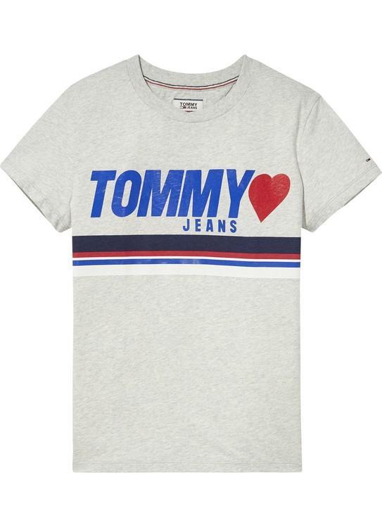 Tommy Jeans T-Shirt Foil Logo