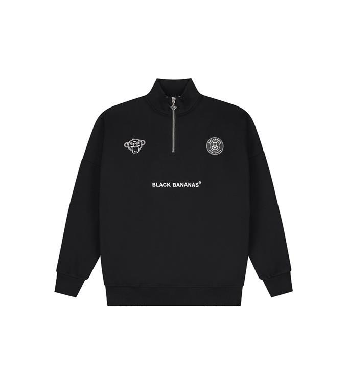 Black Bananas High Collar Sweater W