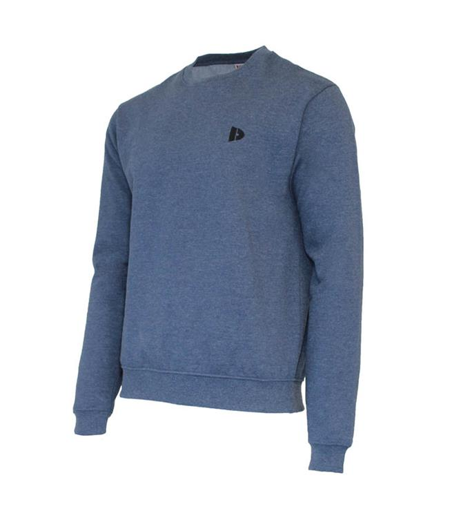 Donnay Fleece Crew Sweater Dean M