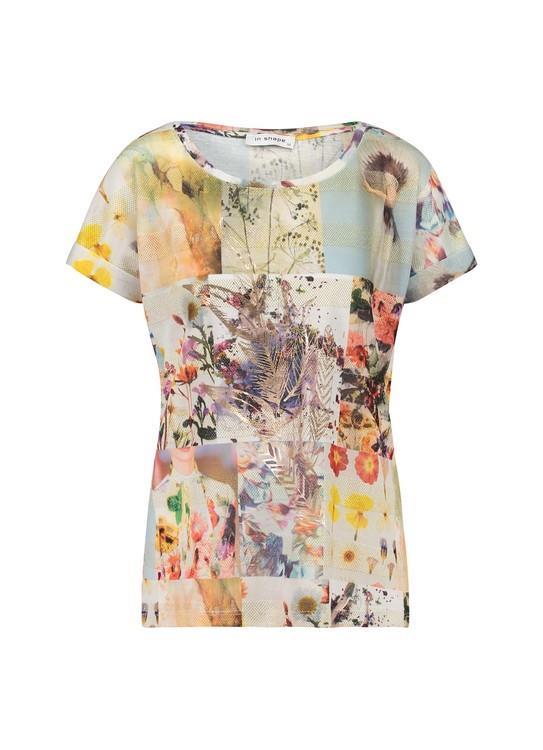 In Shape T-shirt Multicolour Print
