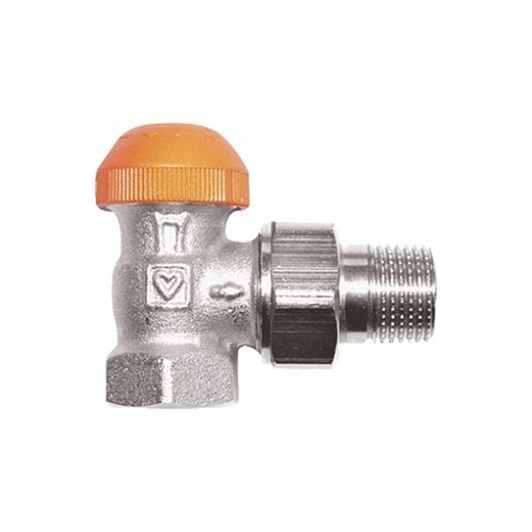 Herz TS-98-V thermostatische radiatorkraan - haaks 1/2''xM28