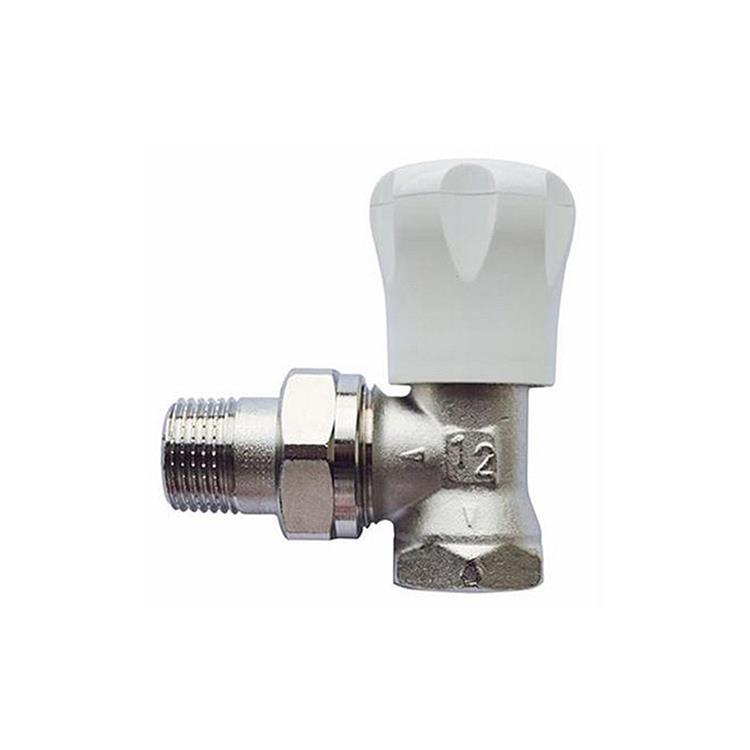 Herz GP handbediende radiatorkraan - haaks 1/2''xM28