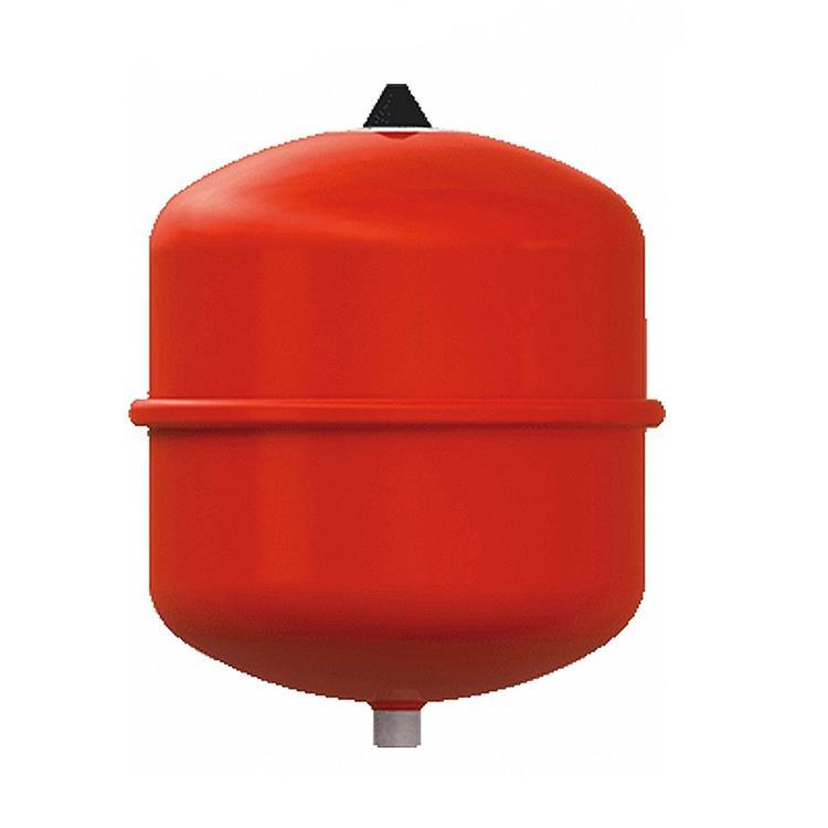 Fix expansievat - 18/0,5 bar rood