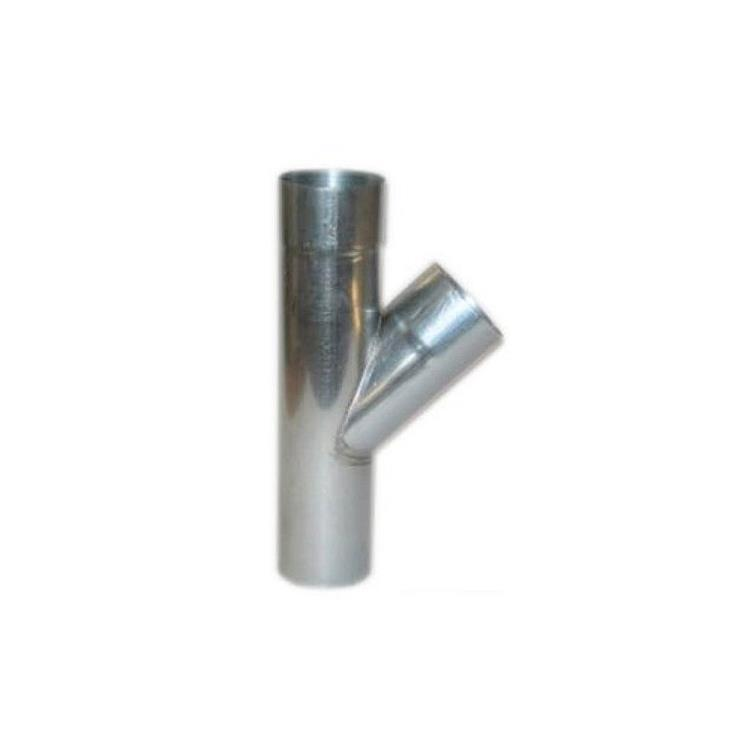 T-stuk - 70 mm zink 45 gr