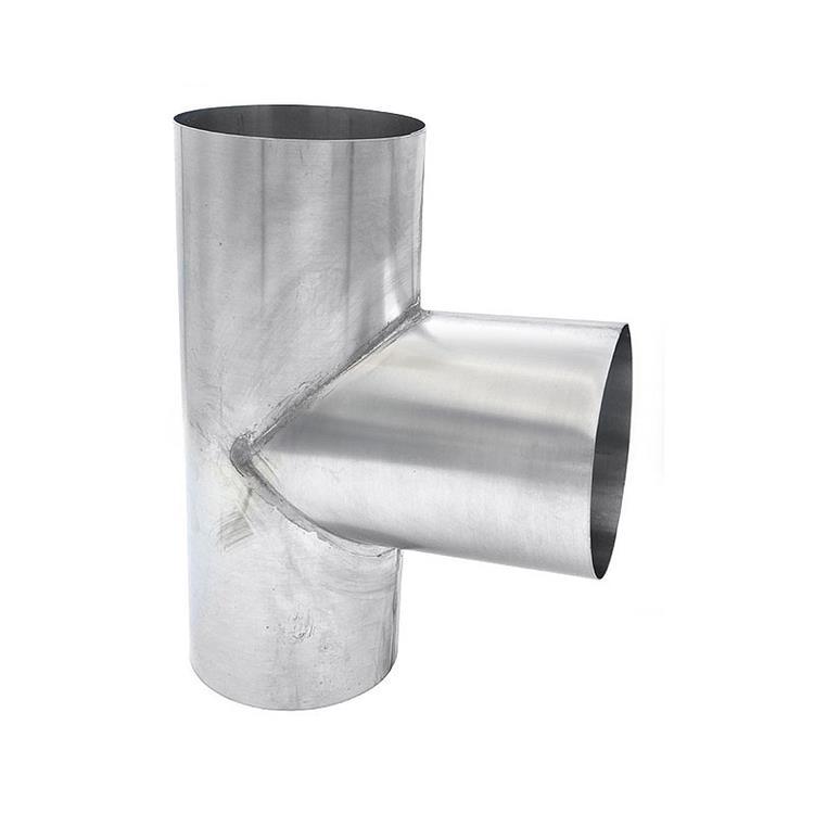 T-stuk - 80 mm zink 90 gr