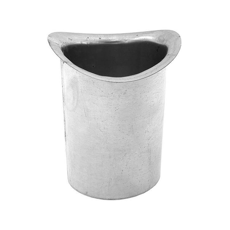 Steekpijp mastgoot - 100 mm 8 cm zink