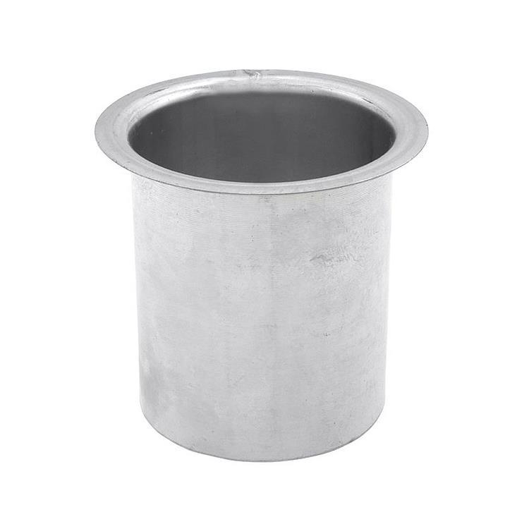 Steekpijp bakgoot - 100 mm 8 cm zink