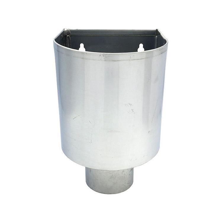 Vergaarbak mini - 80 mm zink