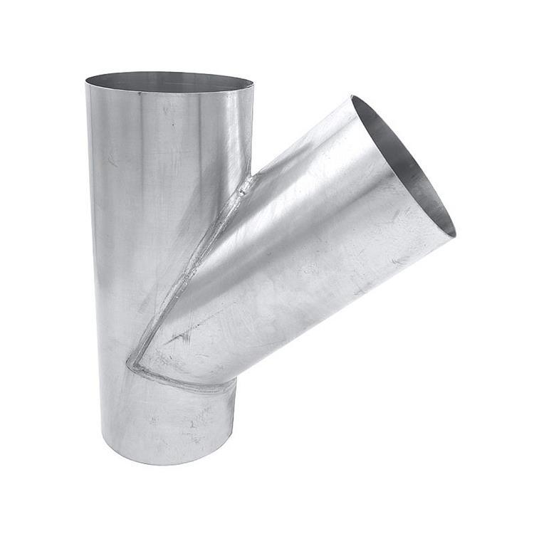 T-stuk - 100 mm zink 45 gr