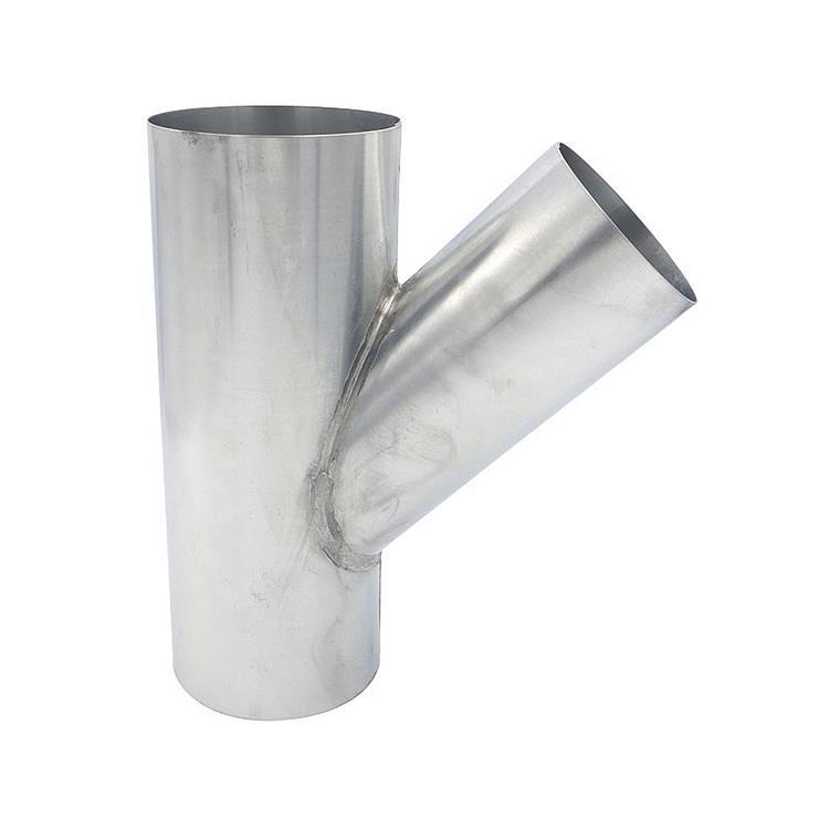 T-stuk - 100 x 80 x 100 mm zink 45 gr