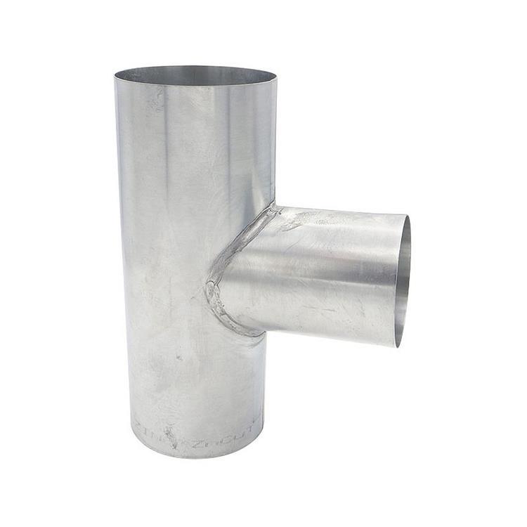 T-stuk - 100 x 80 x 100 mm zink 90 gr