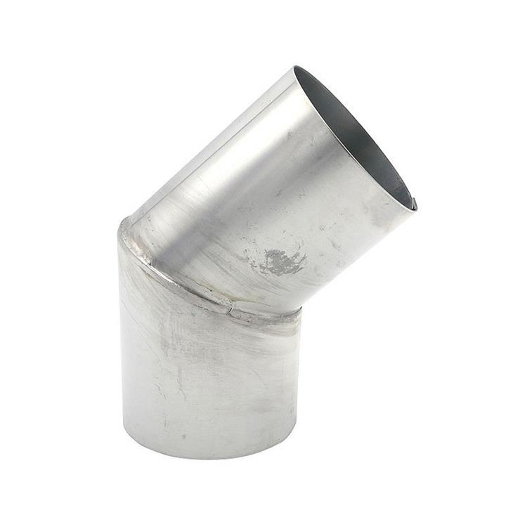 Bocht verstek - 80 mm zink 45 gr
