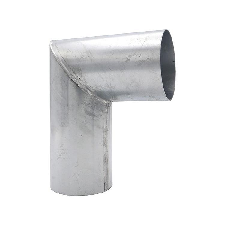 Bocht verstek - 80 mm zink 90 gr