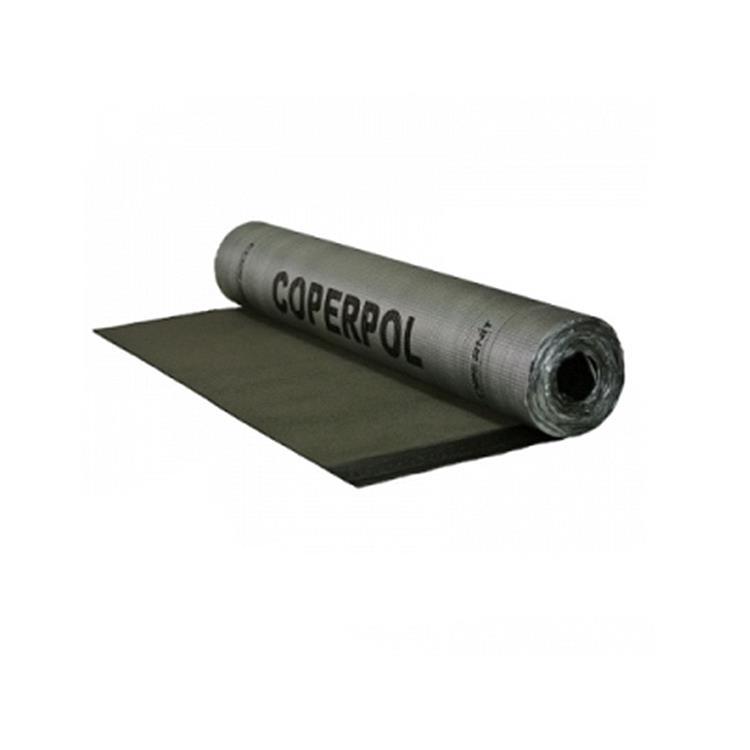 Coperpol Combi talk 470K14 dakbedekking toplaag - 6 meter zwart