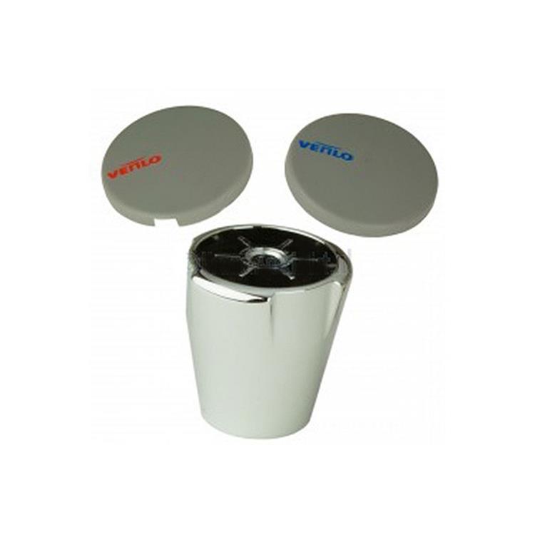 Venlo Messing Eco Keramisch kraangreep - warm/koud F963580AA