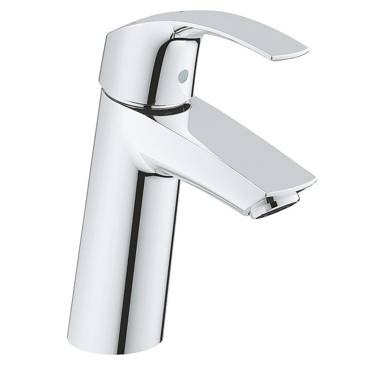 Grohe Eurosmart New wastafelkraan - M-size uitloop chroom