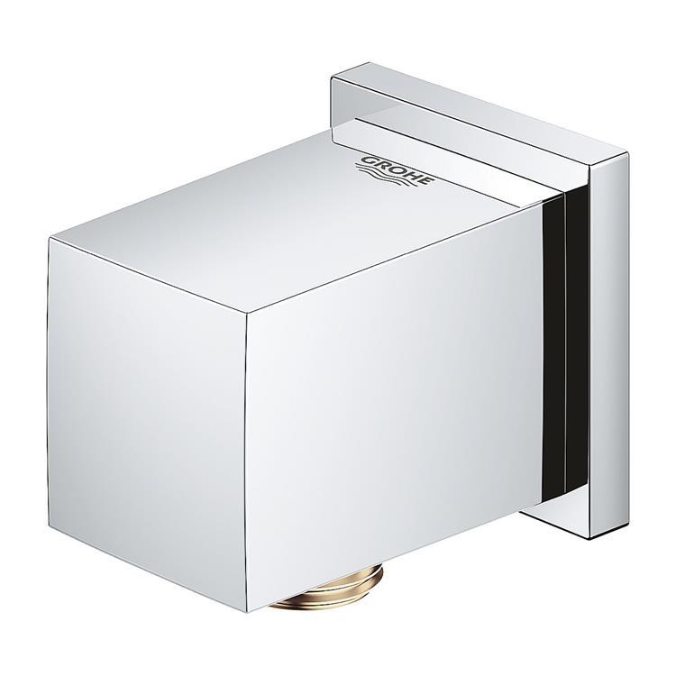Grohe Euphoria Cube wandaansluitbocht - vierkant chroom 27704000