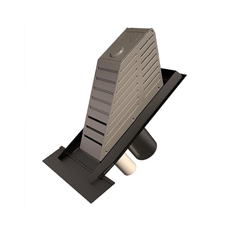 Ubbink Kompakt 2.0 MV/WTW riool verlengd - 160 mm