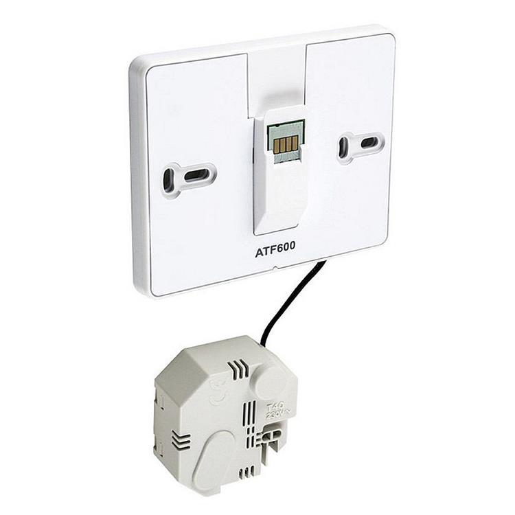 Honeywell Home Evohome ATF600 - wandmontage met voedingsmodule en wifi