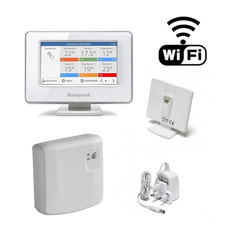 Honeywell Home Evohome single zone pakket - aan/uit met WIFI