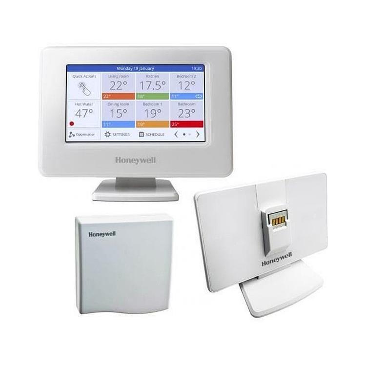 Honeywell Home Evohome single zone - modulerend pakket met WIFI