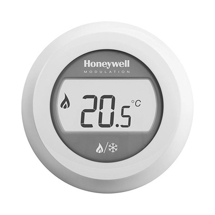 Honeywell Home Round thermostaat - modulerend voor verwarmen en koelen