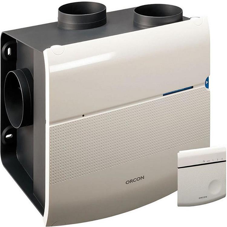 Orcon Smartline MVS-15RH CO2B woonhuisventilator