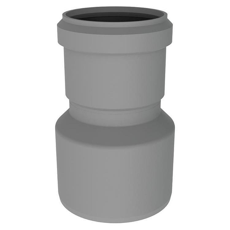 Burgerhout Miniflex verloopstuk PP - 80-60 mm