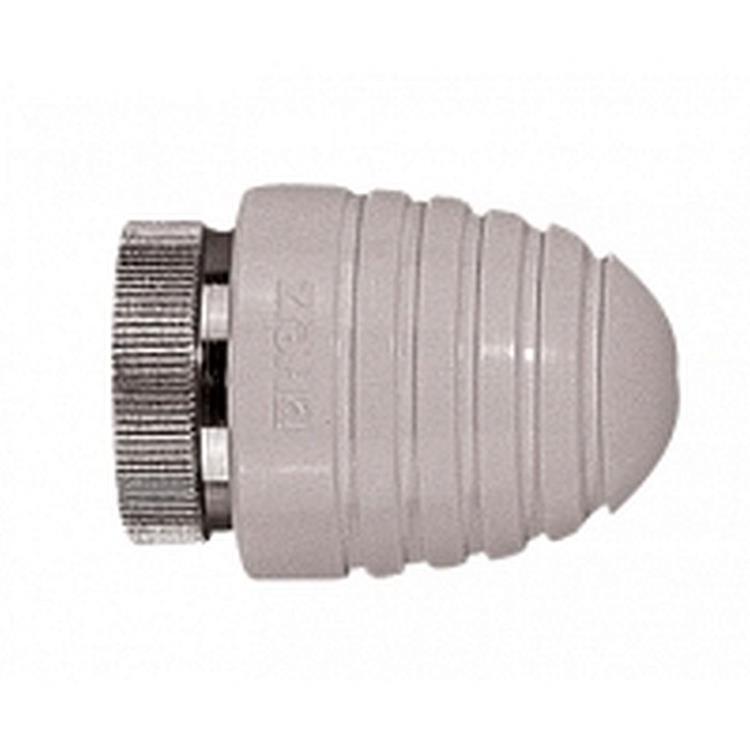 Herz Design H radiatorknop - M30x1,5 handbediend wit