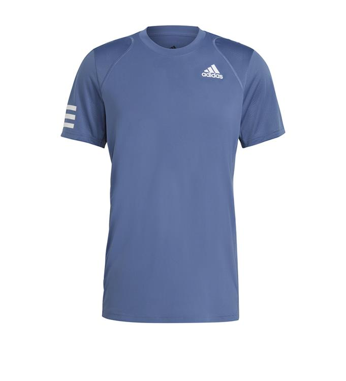 adidas Club 3-Stripe Tennisshirt M