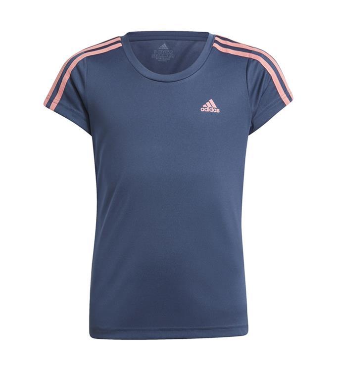 adidas Designed 2 Move 3-Stripes T-Shirt Y
