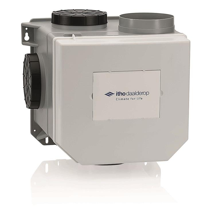 Itho Daalderop CVE-S ECO SP woonhuisventilator - perilexstekker
