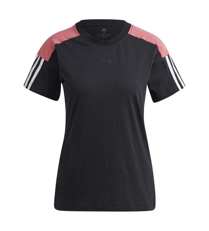 adidas Essentials Logo Colorblocked T-Shirt W