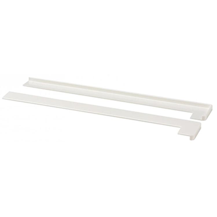 CanDo kantenband kunststof wit 2 stuks