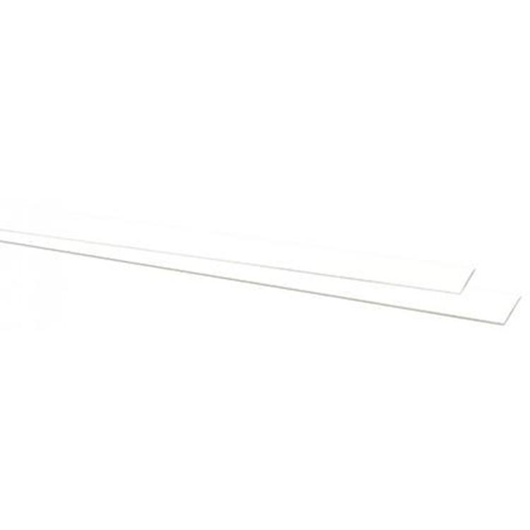 CanDo kantstrip wit 40cm 2 stuks