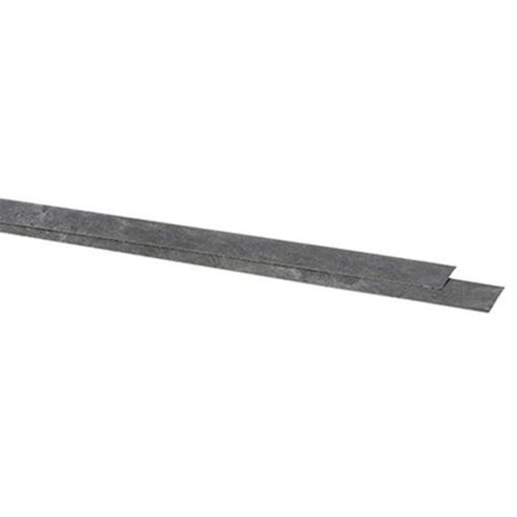 CanDo kantstrip donker beton 40cm 2 stuks