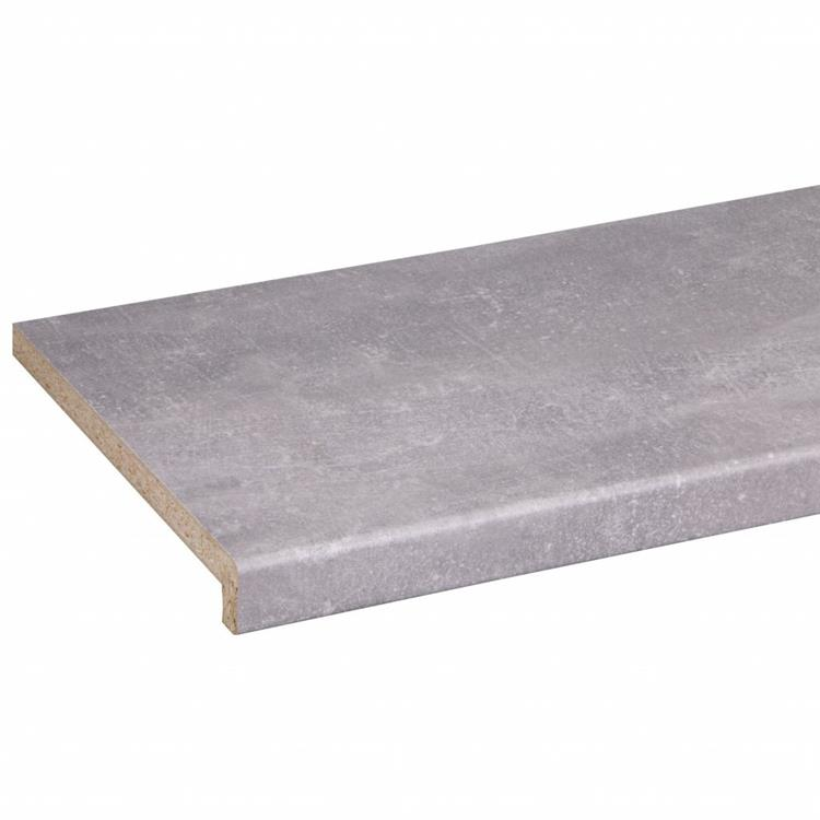 CanDo Decoratieve vensterbank donker beton 302x29cm