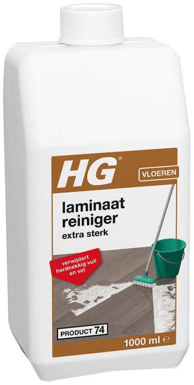 HG laminaatreiniger extra sterk