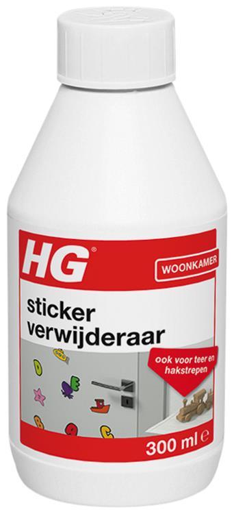 HG stickerverwijderaar