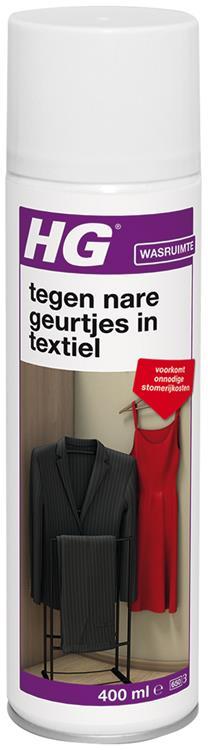 HG tegen nare geurtjes in textiel