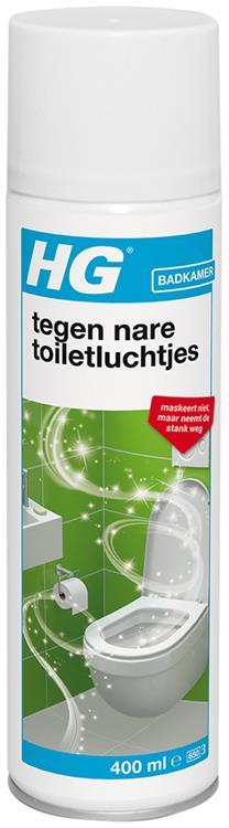 HG tegen nare toiletluchtjes