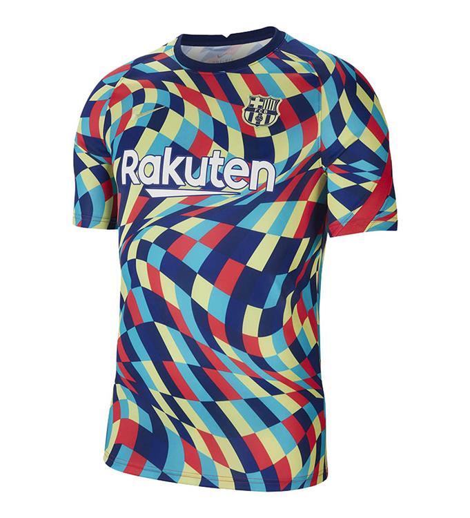 Nike F.C. Barcelona Pre-Match voetbalshirt 2020/2021 M