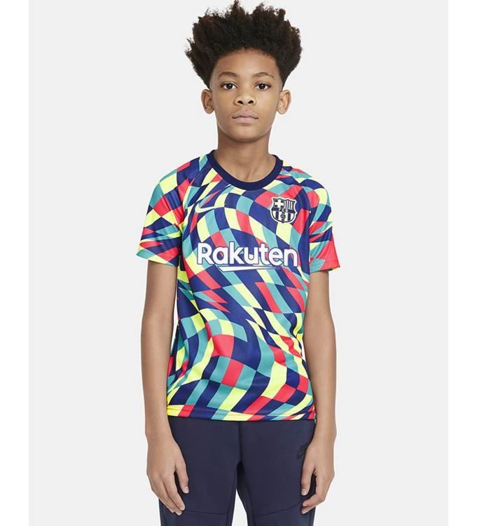 Nike F.C. Barcelona Pre-Match Voetbalshirt 2020/2021 Y