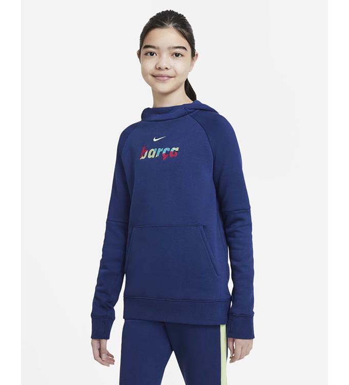 Nike F.C. Barcelona Fleece Pullover 2020/2021 Y
